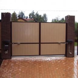 Відкривні гаражні ворота