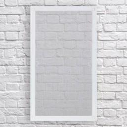Москітна сітка (ПВХ) Віконна рамочна Біла