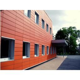 Фасадні металеві панелі
